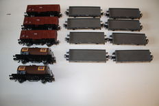 Märklin H0 - 4402/4433/4449 - Tanker wagons / Boxcars / Closed goods wagons of the Netherlands' Railways NS