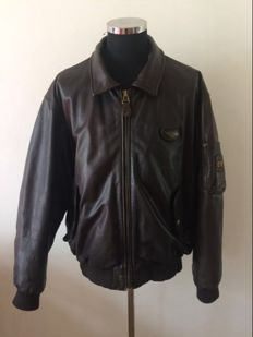 Redskins – Leather pilot coat