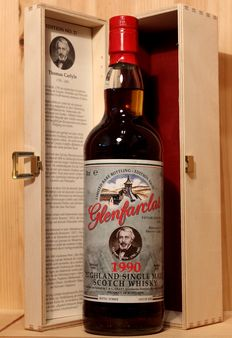Glenfarclas 1990 Edition No 21 (Thomas Carlyle) bottled 2017 incl. original wooden box, 700ml. 46%vol.