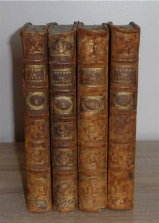 Abbé Raynal - Oeuvres - 4 complete volumes - 1784