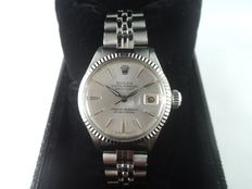 ROLEX Oyster Perpetual Datejust 6517 - women's wrist watch - 1963s
