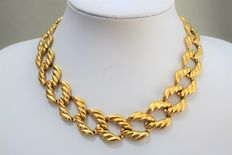 Signed NAPIER – Gold-plated Necklace – end 70s