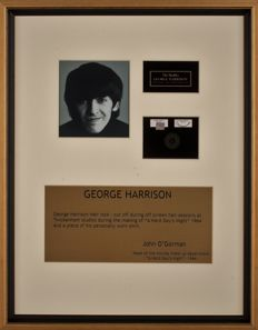 George Harrison Authentic Hair Lock