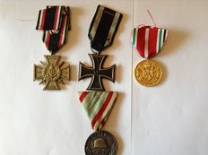 Medal from World War I, Germany and Allies