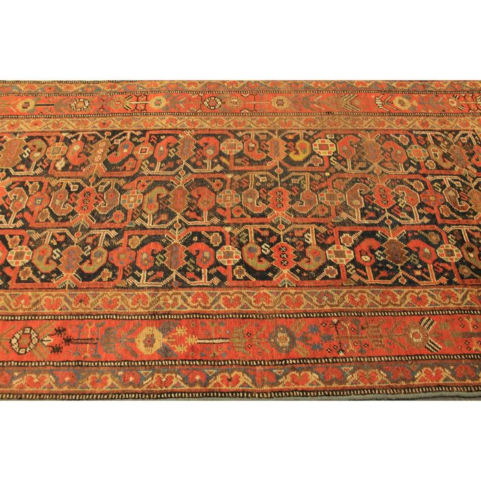 Qashqai Shiraz Rug: Collector's Item, Antique Hand-knotted Persian Carpet