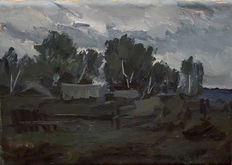 Russian School (20th century) - Landscape