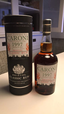 Classic Bristol Caroni Vintage 1997 Bottled 2015 - 17 years old - 61% ABV