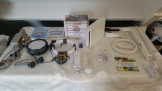 Great lot Nintendo WII White - incl. motionplus, rechargeable batterypack, accessories and 13 games.