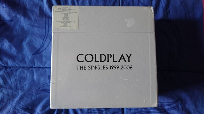 coldplay the singles 1999-2006