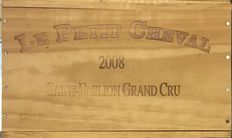 2008 Chateau Cheval Blanc Le Petit Cheval, Saint-Emilion Grand Cru - 6 bottles (75cl) in OWC