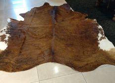 Light brown cowhide.