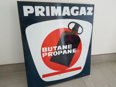 Primagaz Enamelled plate Double sided - 1970