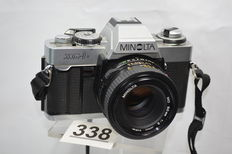 Minolta XG-1 camera with 1.2 50 mm objective
