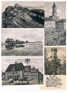 Lot with old German postcards - more then 1200 cards