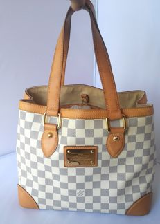 Louis Vuitton - Hampstead Damier Azur - Handbag / Shoulder bag