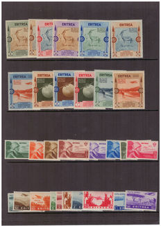 Eritrea, 1934-1936 – Series with Ordinary Post and Air Mail