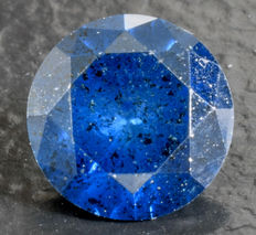 0.42 ct Blue Diamond ** no reserve **