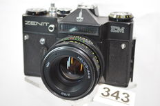 Particularly beautiful Zenit EM Olympic 80 camera