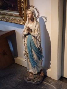 Large Church statue