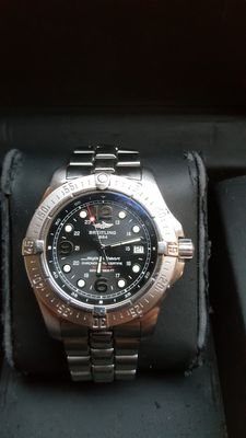 Breitling Steelfish X-Plus Superocean Ref. A17390 – Men´s– 2008