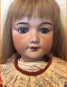 Porcelain head doll Unis France Doll 301