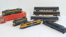 Lima/Jouef/Rivarossi H0 - NS locomotives and carriages