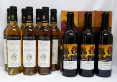 "South African sweet wine: 3x ""De Trafford"" Straw-wine 2005, 2006 and 2007 & 7x 2009 Saronsberg Limited Release Muscat de Frontignan - 10 bottles 0.375l."