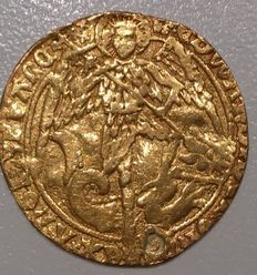 Great Britain – Edward IV, second reign (1471-1483) – Gold angel, London – Gold