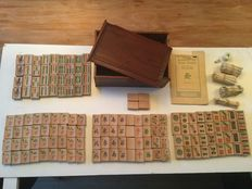 Bamboo Mahjong game from the 1920's
