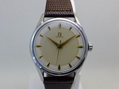 Omega Two Tone Dial Classic Men's Watch 1950's