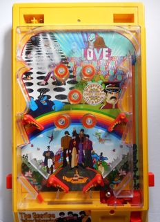 Pinball toy games 2010 The Beatles Yellow Submarine Tm product