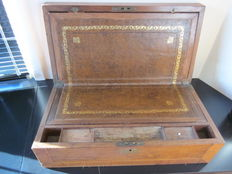 Portable travel desk - first half of 19th century