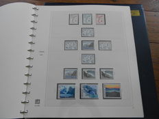 Faroe Islands and Alderney, 1975/1999 - collection in two SafeDual albums