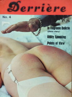 Spanking; Lot with 7 issues of (The New) Derriere-1979/1981