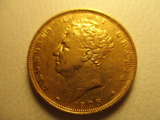 United Kingdom – Sovereign 1825 George IV – gold