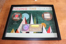 Young The Giant - RIAA Gold CD Award / My Body & Cough Syrup