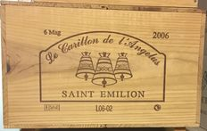 2006 Le Carillon de l'Angelus, Saint-Emilion Grand Cru - 6 Magnums (150cl)