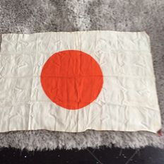 WW2 Japaneses silk flag