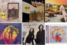 Led Zeppelin, R.Plant, J.Page - Collection of 6 albums - 6 LP vinyl & 1 CD