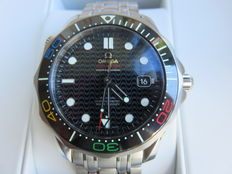 "Omega Seamster Diver ""Rio 2016"" Limited Edition Mens Watch"