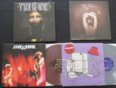Siouxsie & The Banshees / Cocteau Twins / The Cure (2x): Great lot of 4 NEW WAVE LP's including 2 coloured editions!
