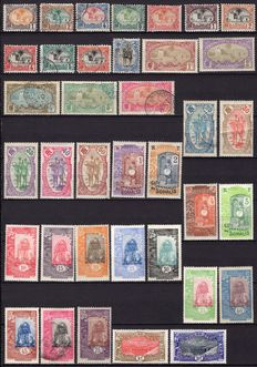 Ex-French colony 1902/1966 – French Somalian Coast – Collection of postage, airmail and tax stamps.