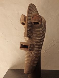 Huge male KIFWEBE mask - SONGYE - D.R.Congo