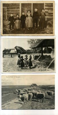 The Netherlands-Gelderland Veluwe village life 1900-1960; 96 x