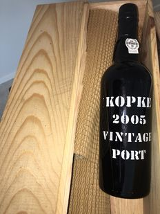2005 Vintage Port Kopke – 3 bottles (75cl) inclusive OWC
