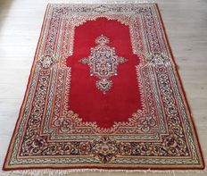 Beautiful  Hand-knotted Persian Kerman, No reserve price! Act Now!