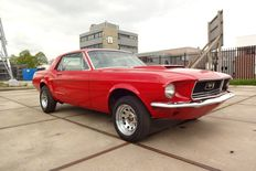Ford - Mustang hardtop 302CI (5.0L) V8 - 1968