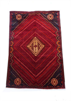 Gorgeous Persian Shiraz  RUG 289x188cm from 1970s-1980s Immaculate Condition MASTERPIECE