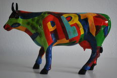 Cynthia S. Hudson  for Cowparade - Art of America  - Large edition