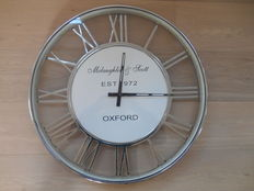 large 'McLaughlin & Scott Oxford' railway clock, late 20th century